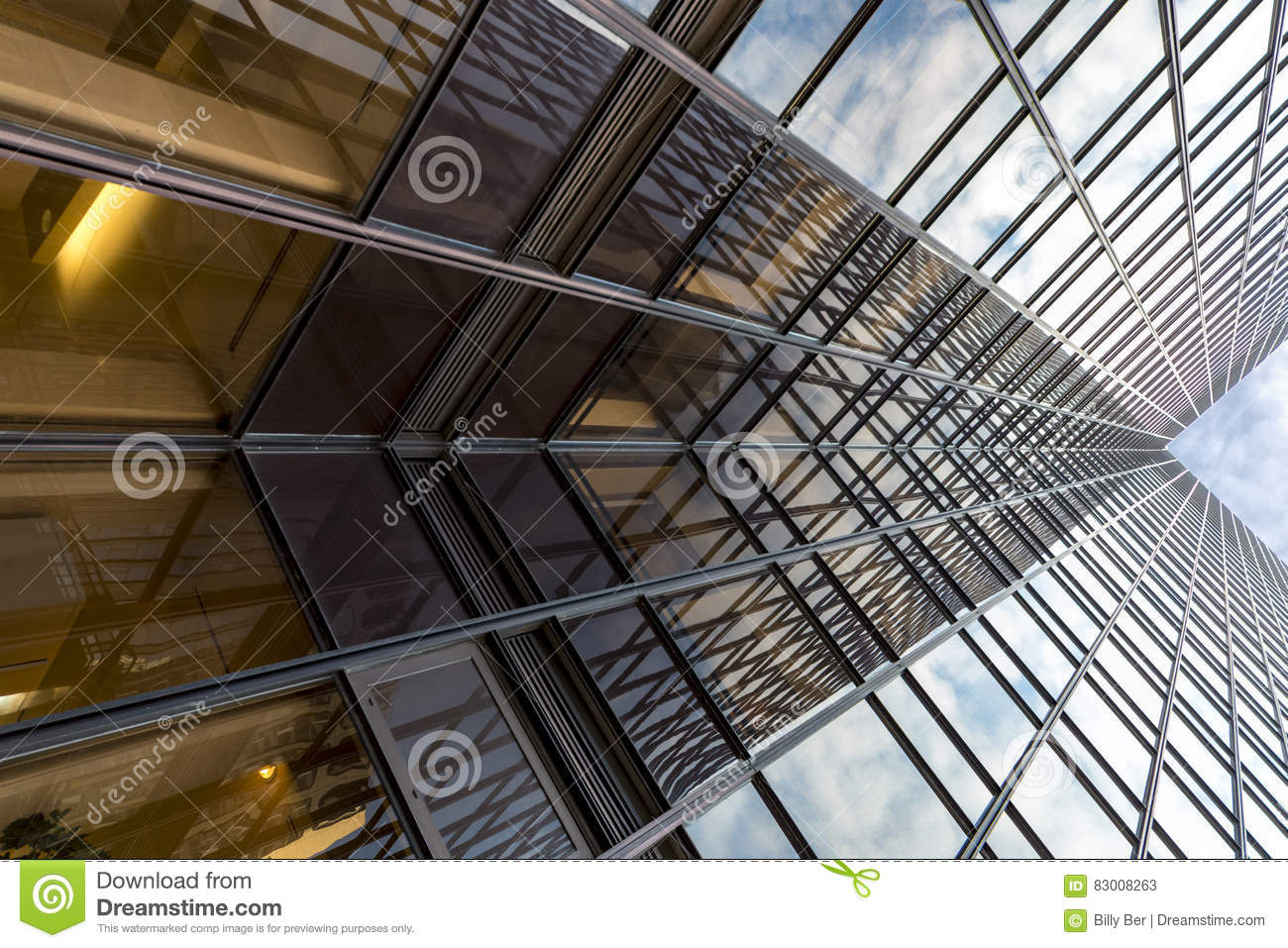Modern building abstract X
