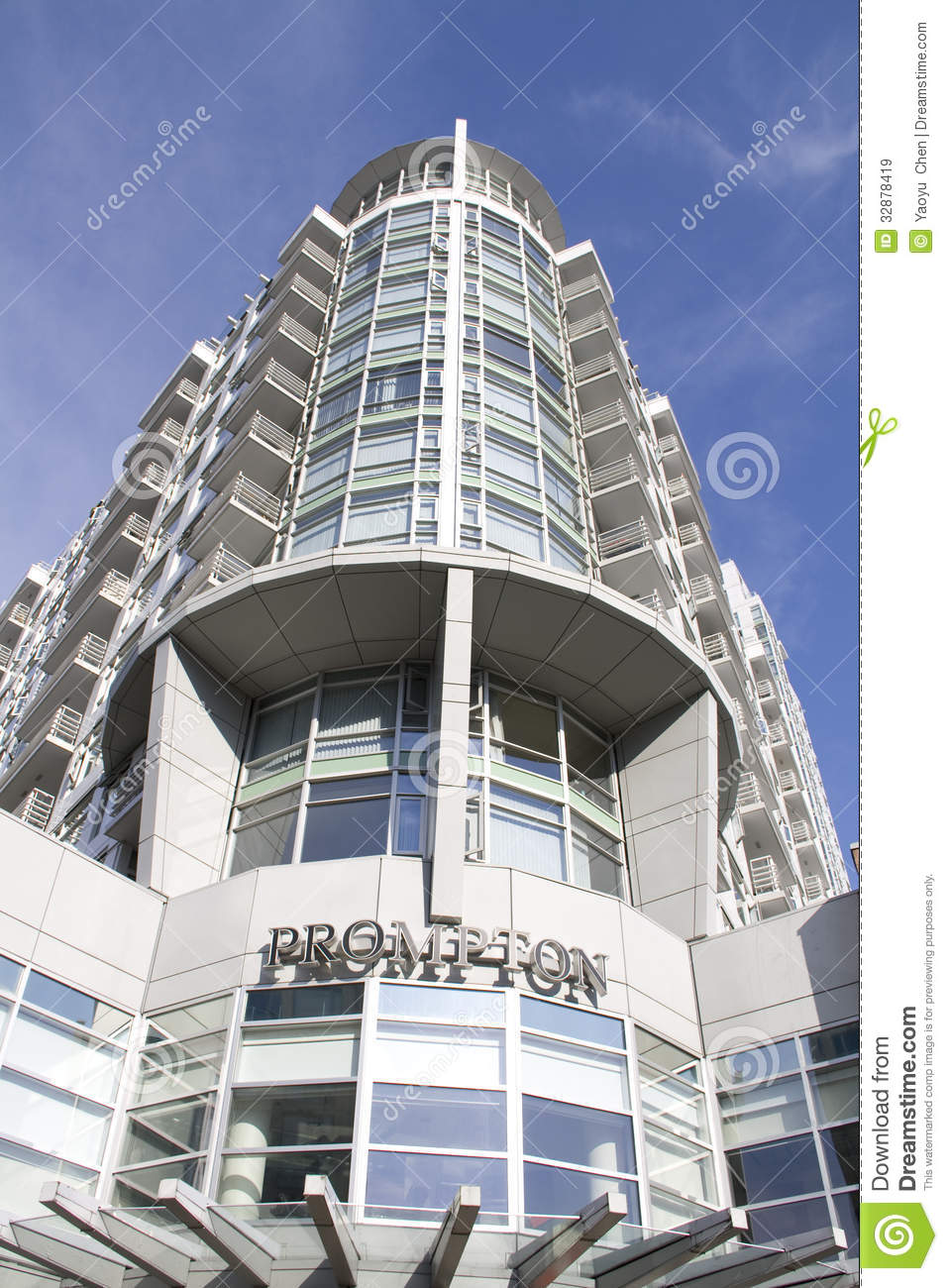 Modern Building Apartment Editorial Stock Image Image 32878419