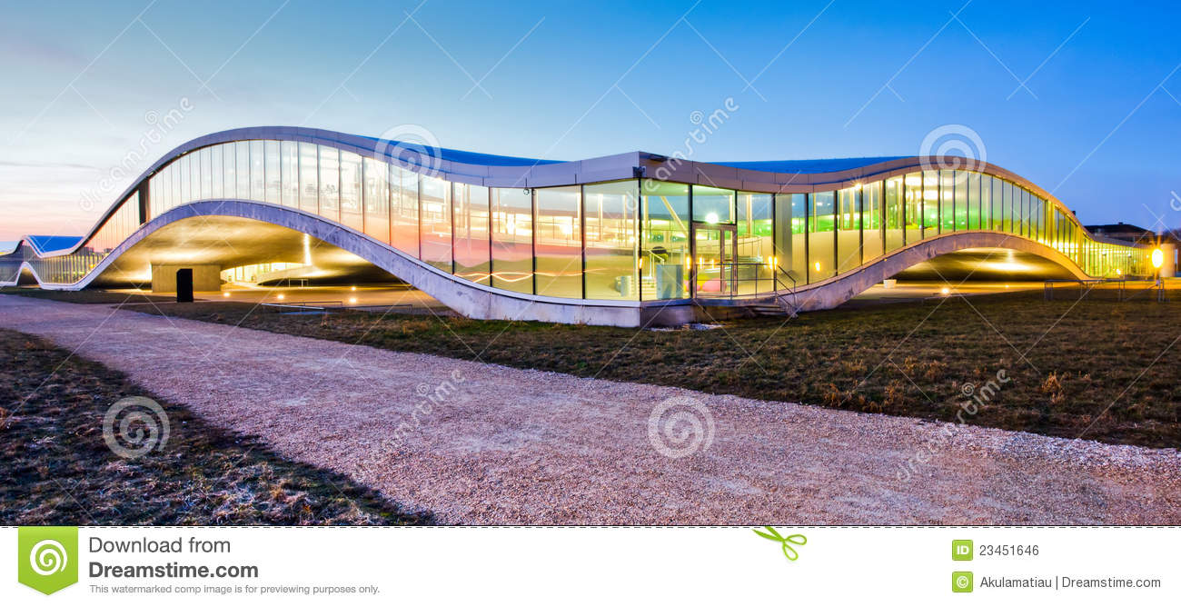 Modern Building Architecture Details Iii Royalty Free