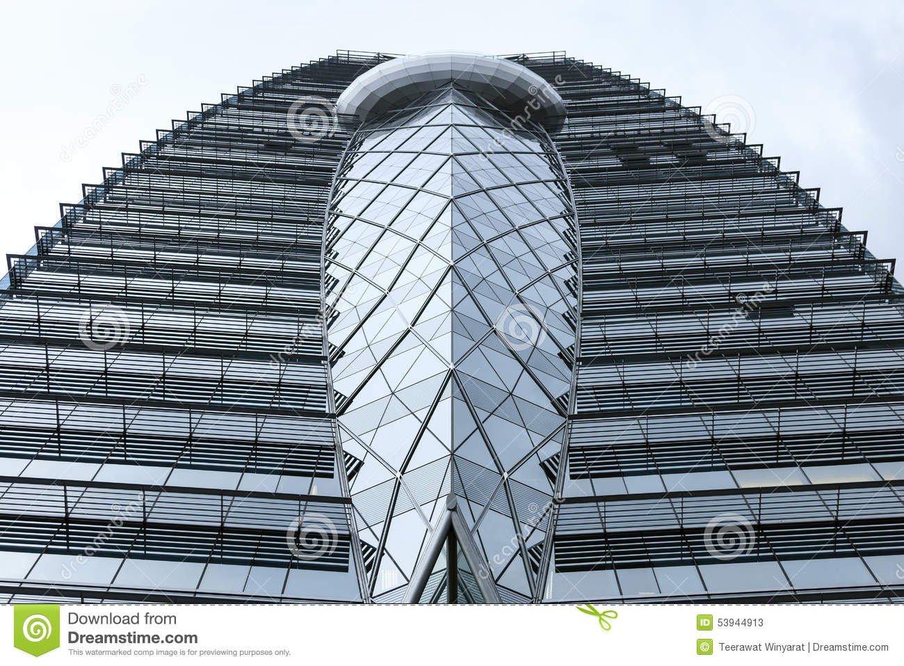 Modern Building Architecture Details Stock Photo Image