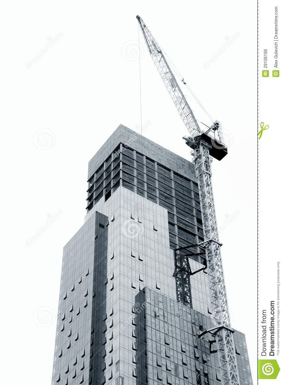 Modern building construction royalty free stock images for Modern building construction
