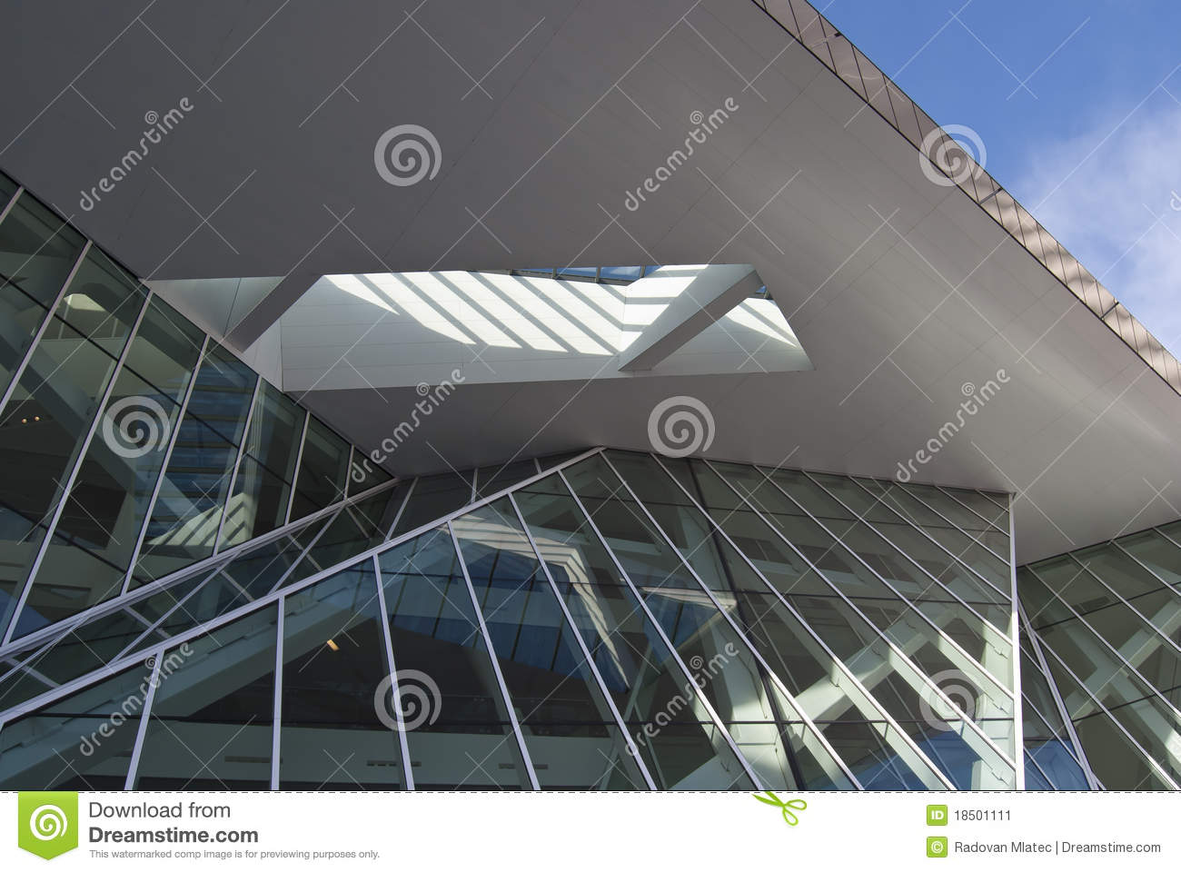 modern building design stock image - image: 18501111
