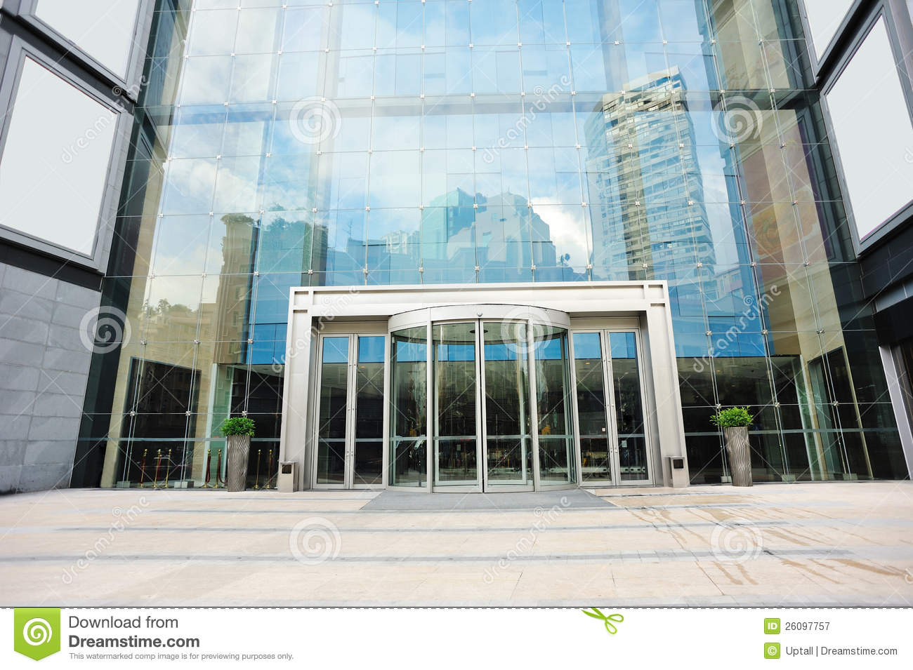 Front of a modern building — Stock Photo © cfarmer #2717577