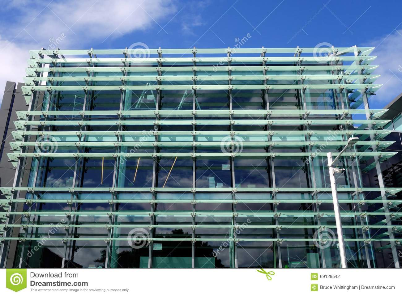 Modern Building Glass Facade Stock Photo Image Of