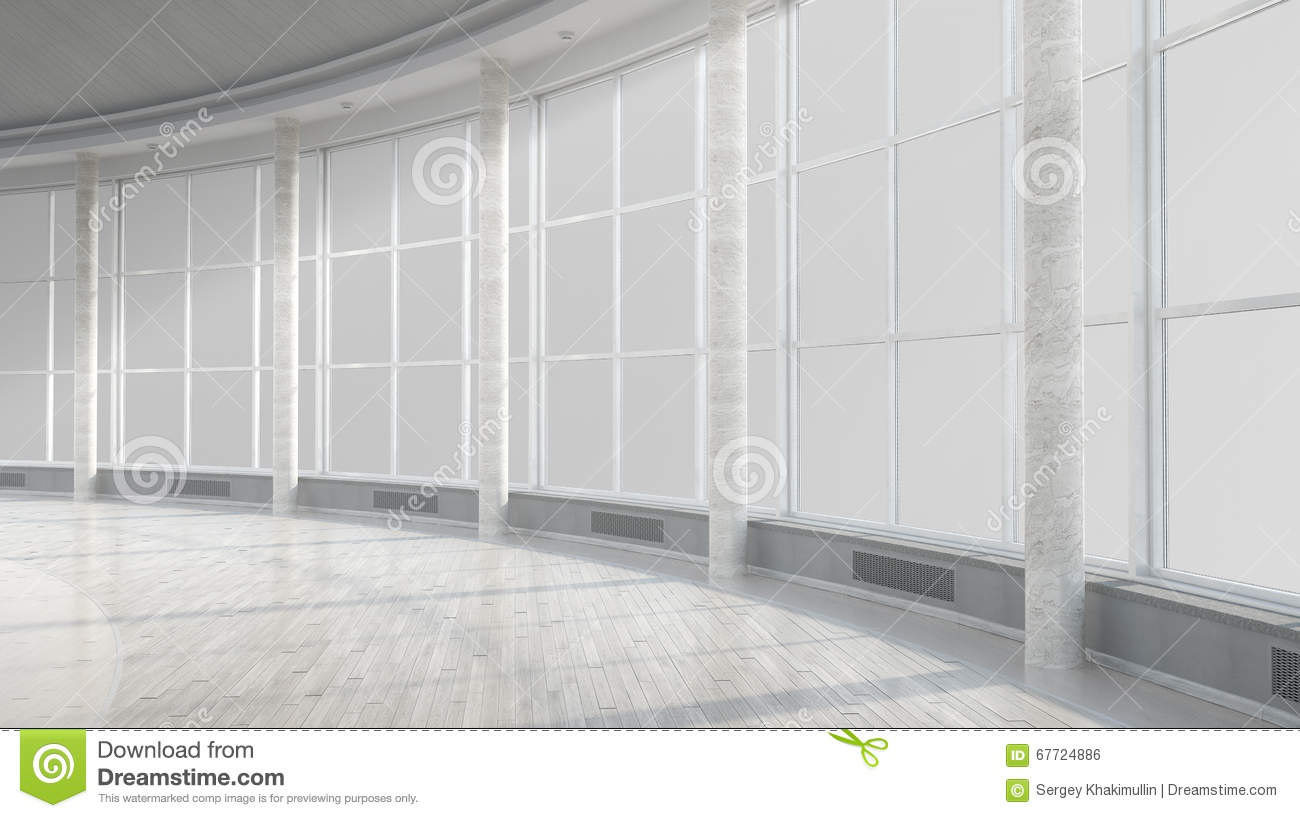 Modern building interior stock photo image 67724886 for Modern office building interior