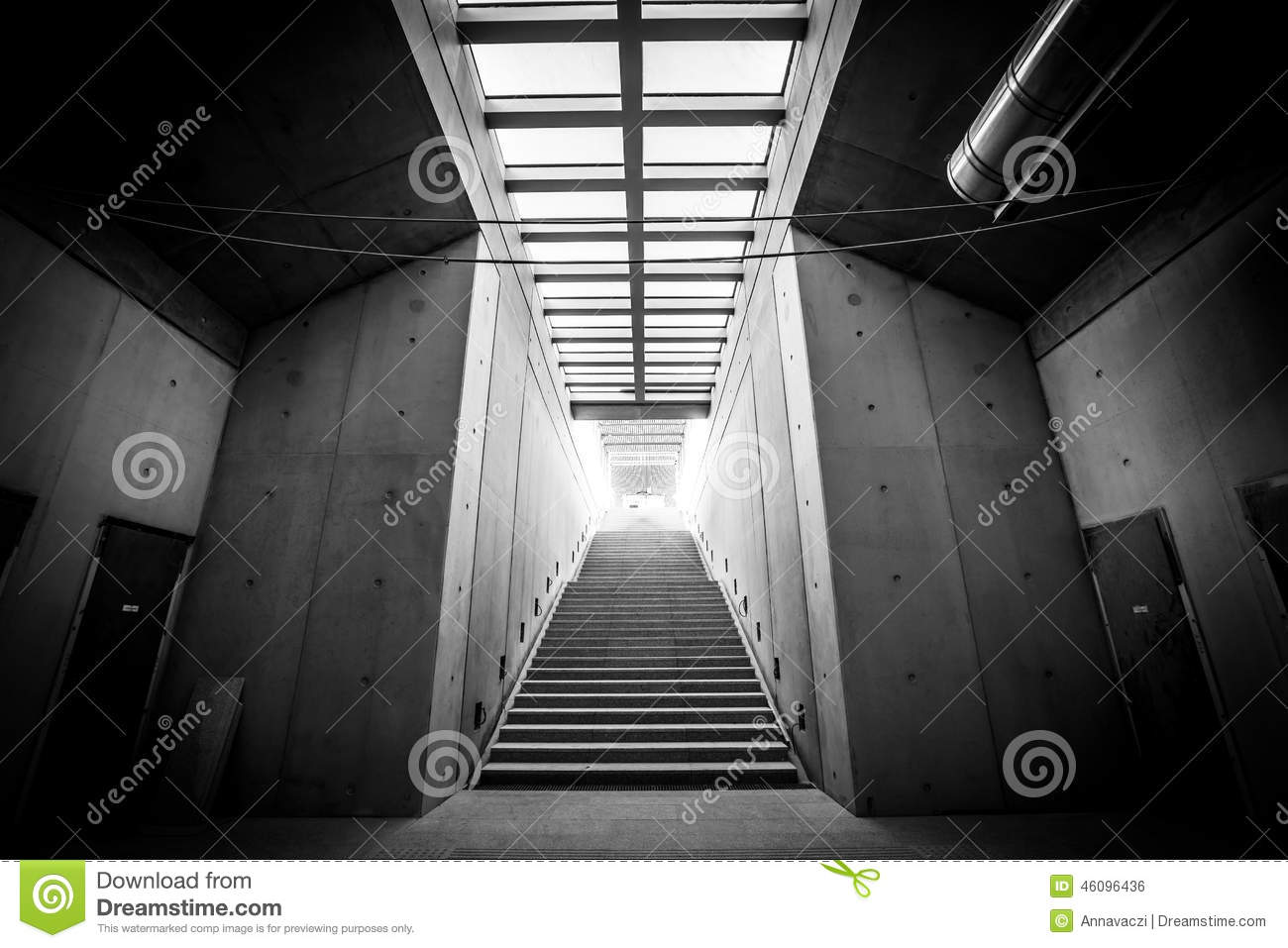 Modern Building Interior Stock Photo - Image: 46096436