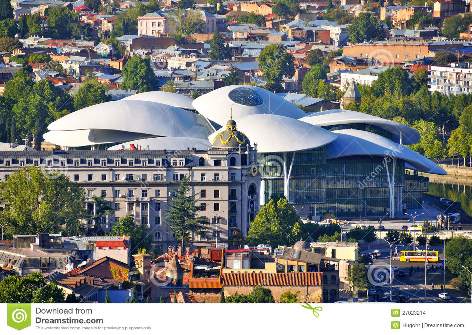Download Modern Building, Tibilisi Georgia Stock Photo - Image of europe, eurasia: 27023214