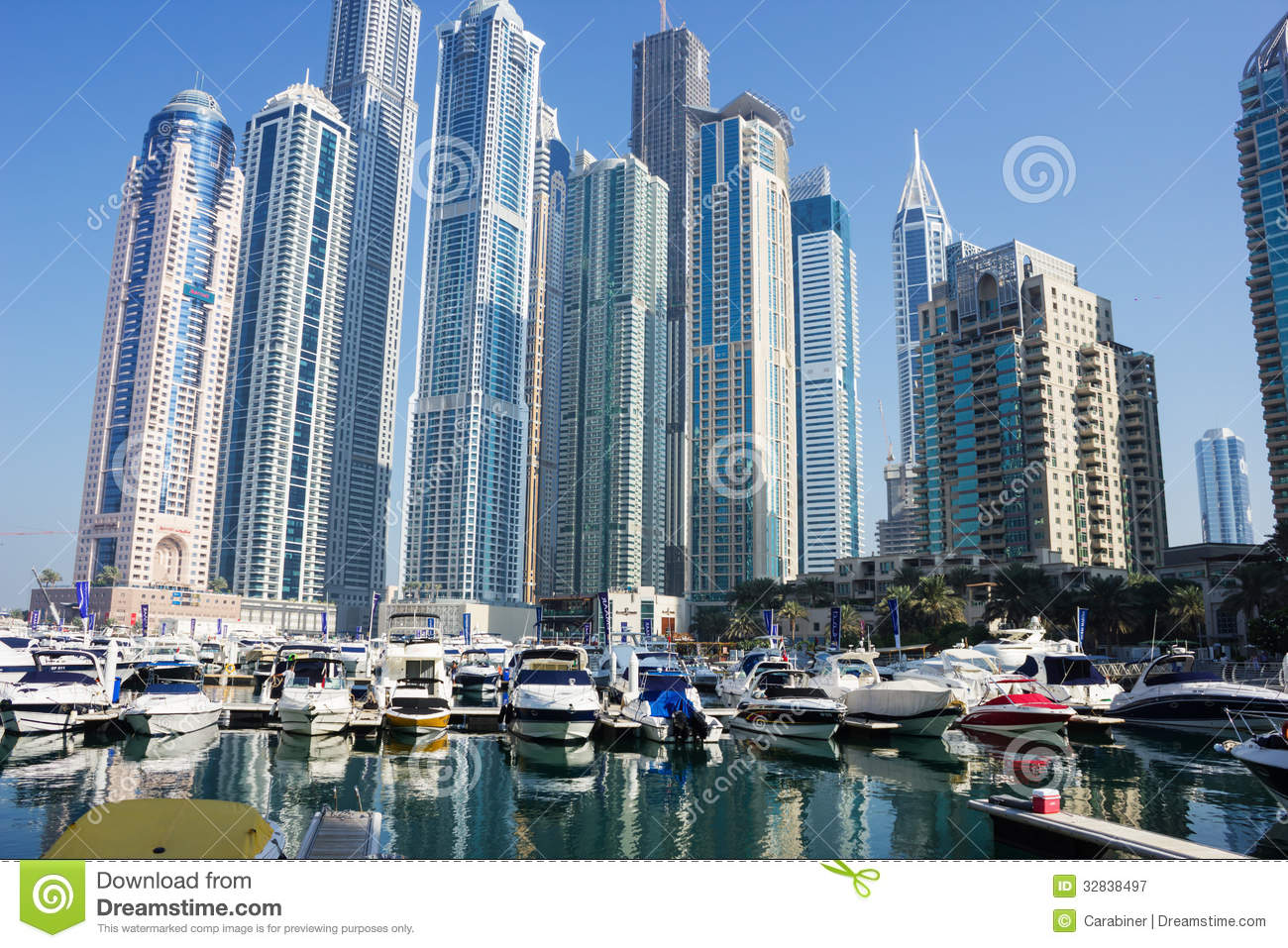 Modern buildings in dubai marina editorial photography for Famous structures in dubai