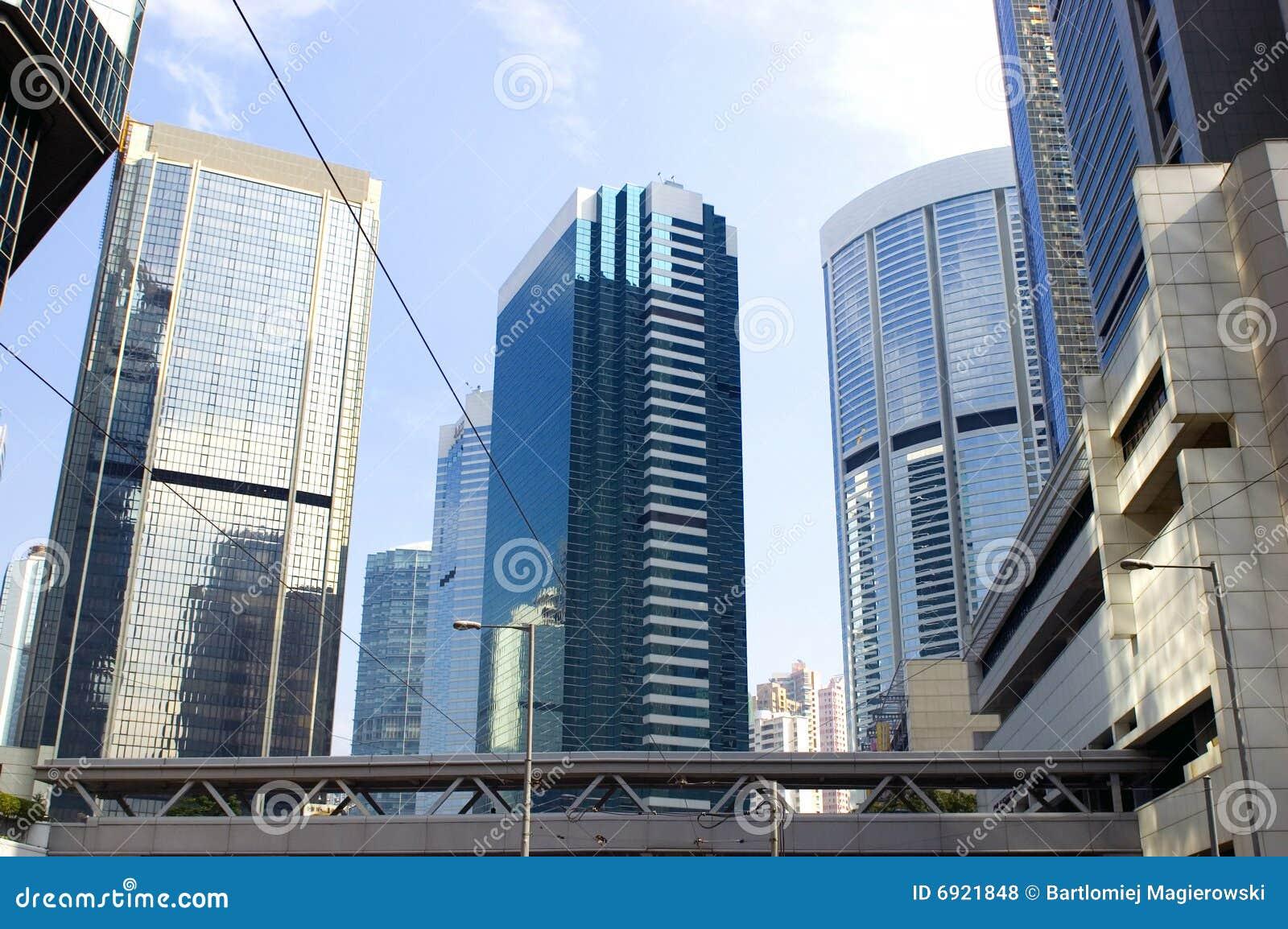 Modern buildings in Hongkong