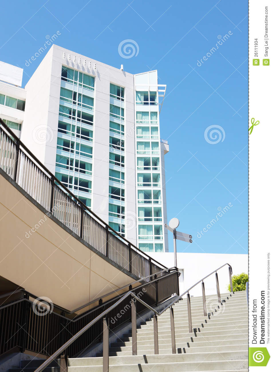 modern buildings in los angeles stock images image 26111934