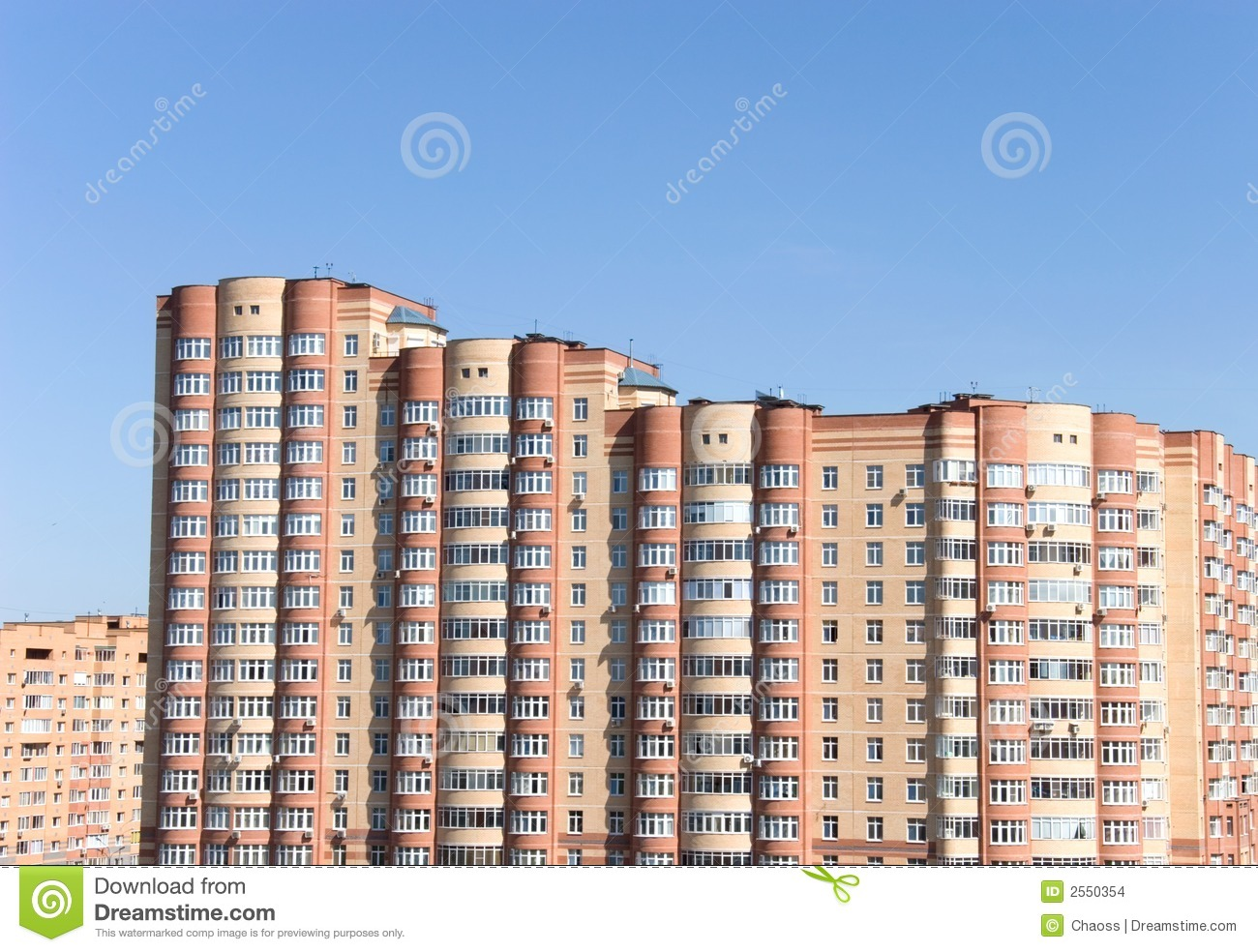 Stock images modern buildings in moscow