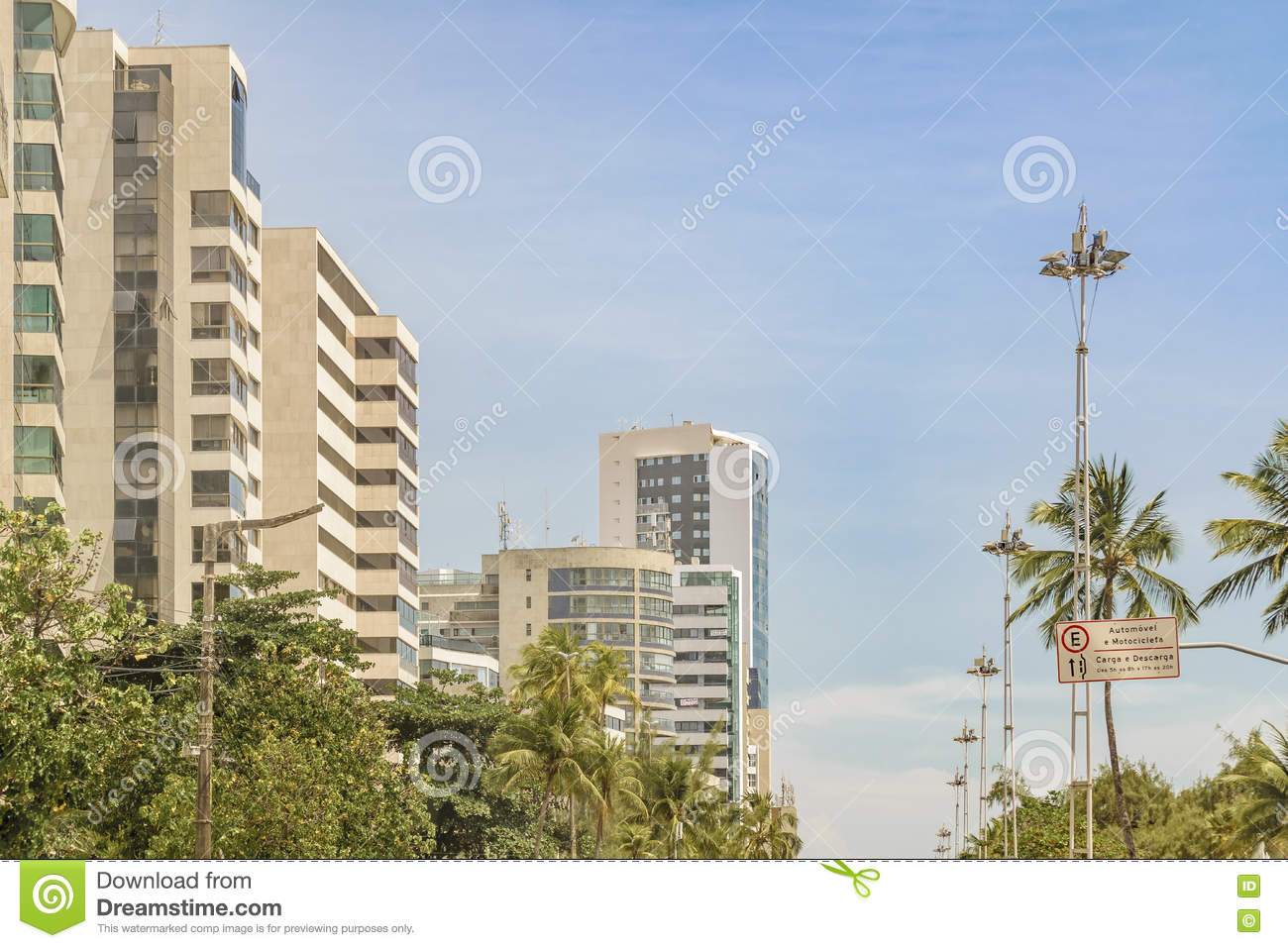 Modern Buildings Recife City Brazil