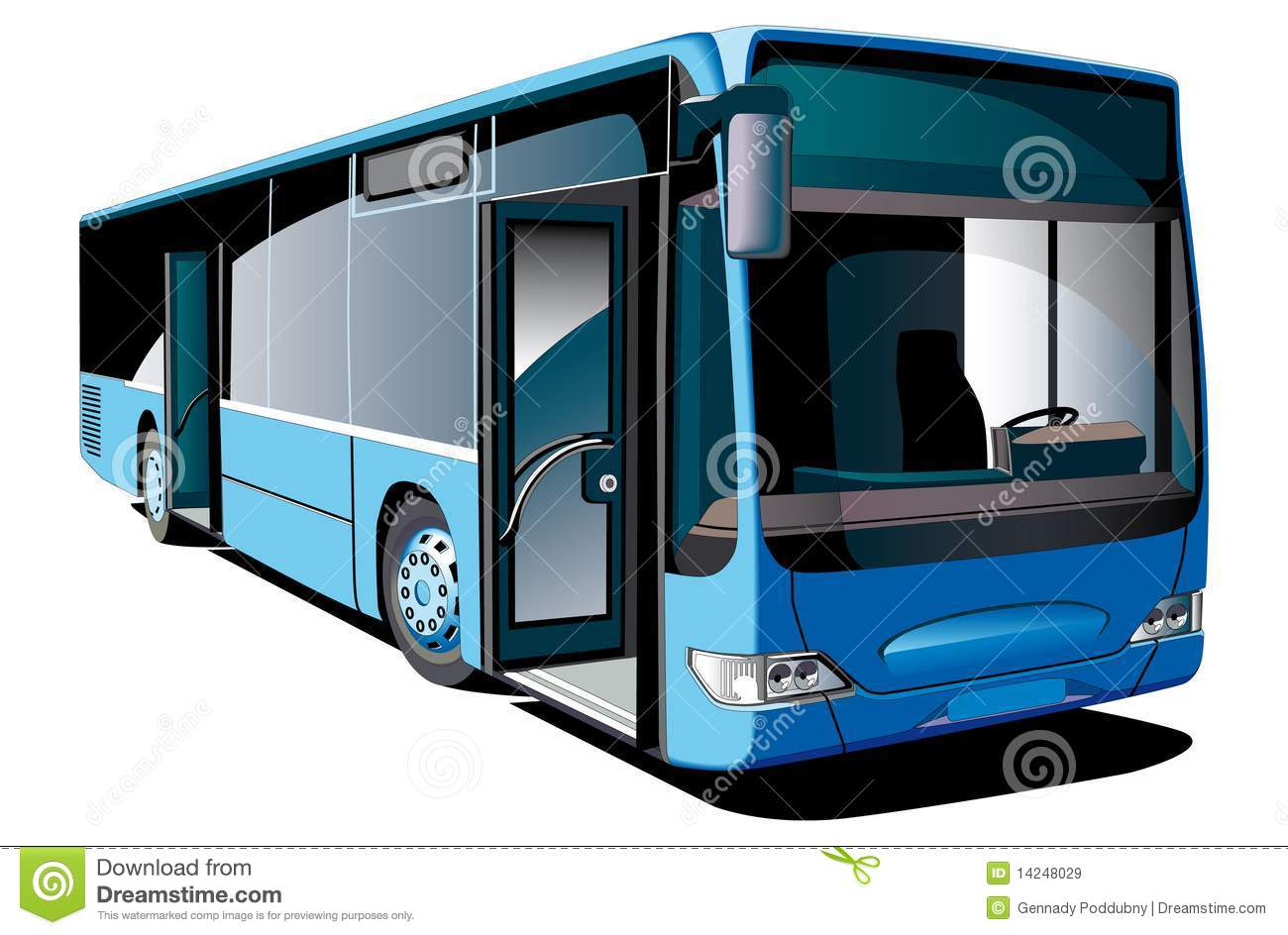 Modern White Long Distance Bus Stock Photo, Picture And Royalty ...