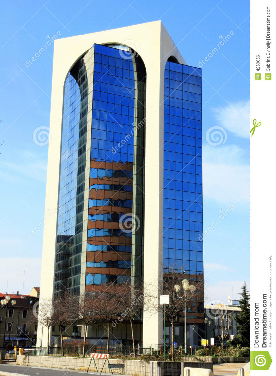 Modern business building royalty free stock image image for Modern business building design
