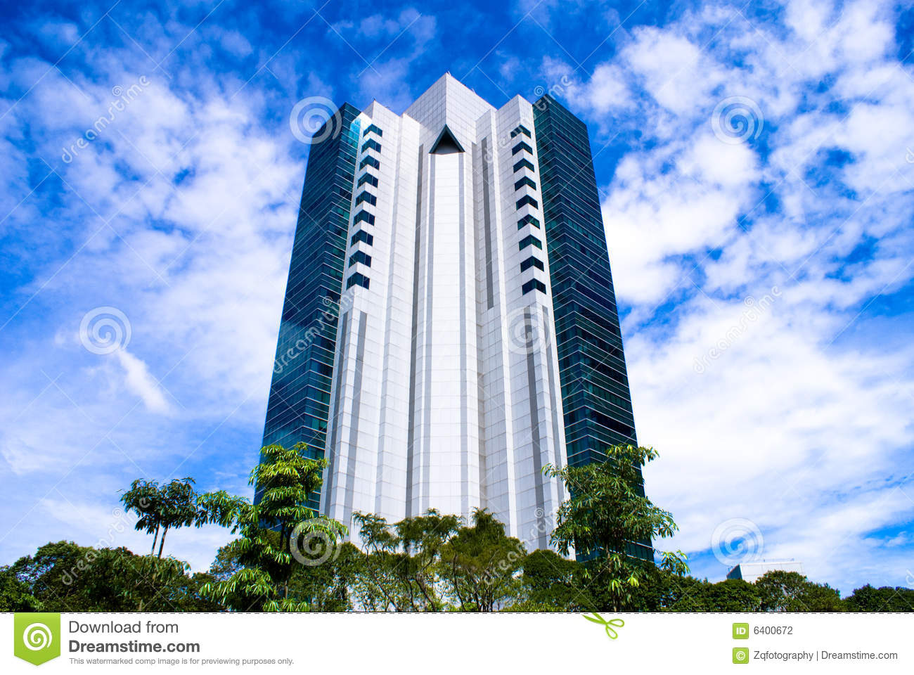 Modern single business building royalty free stock photo for Modern business buildings