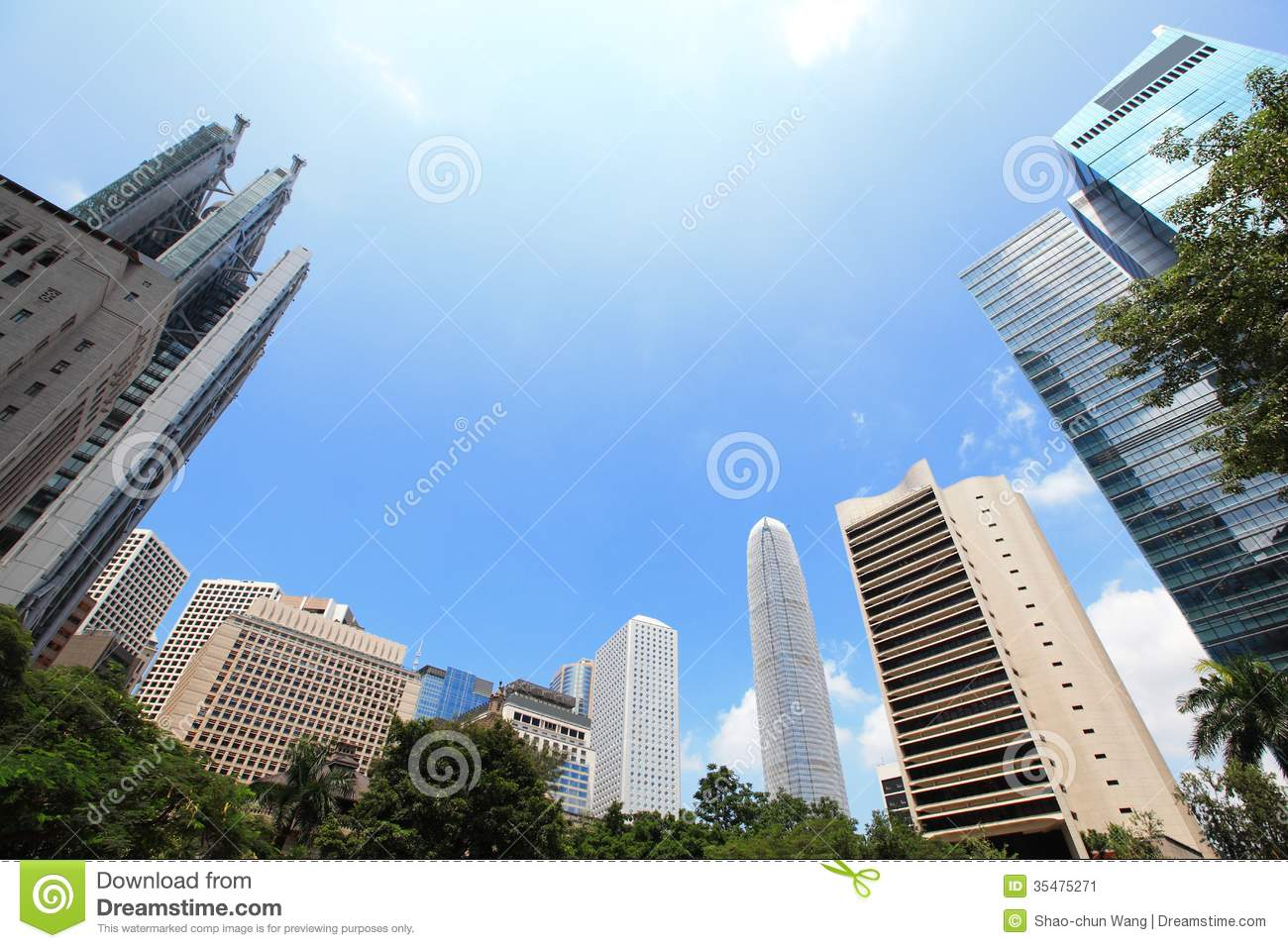 Modern business building stock image image 35475271 for Modern business buildings