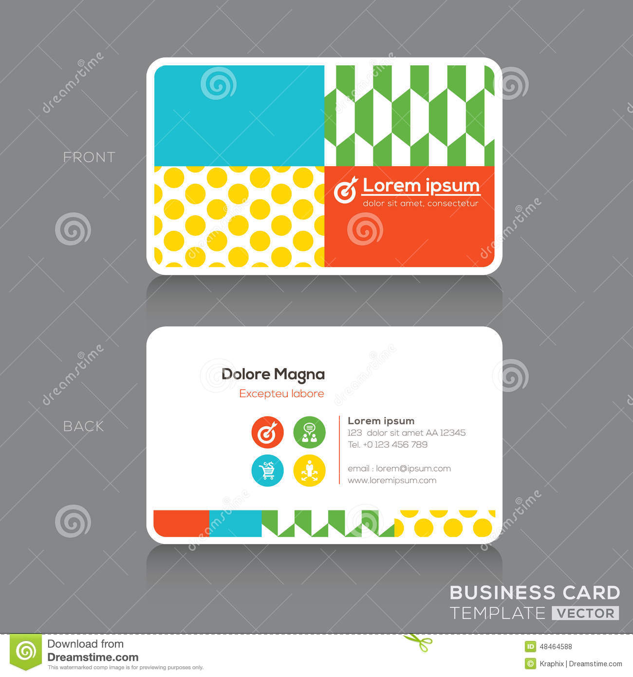 Modern business card design template stock vector illustration modern business card design template royalty free vector alramifo Image collections