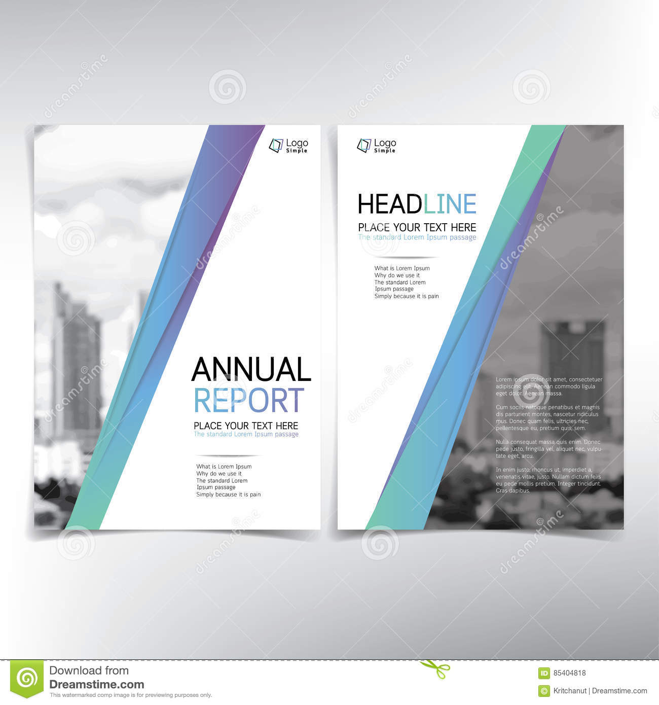 modern business cover page vector template condominium and rea