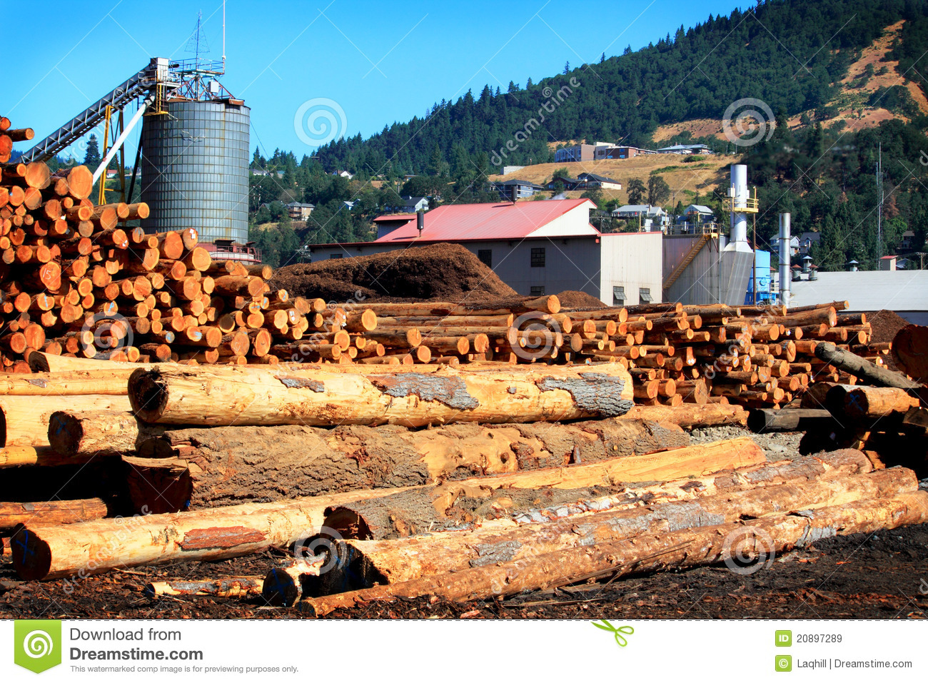 modern busy sawmill royalty free stock images image red fish clip art free redfish clipart png