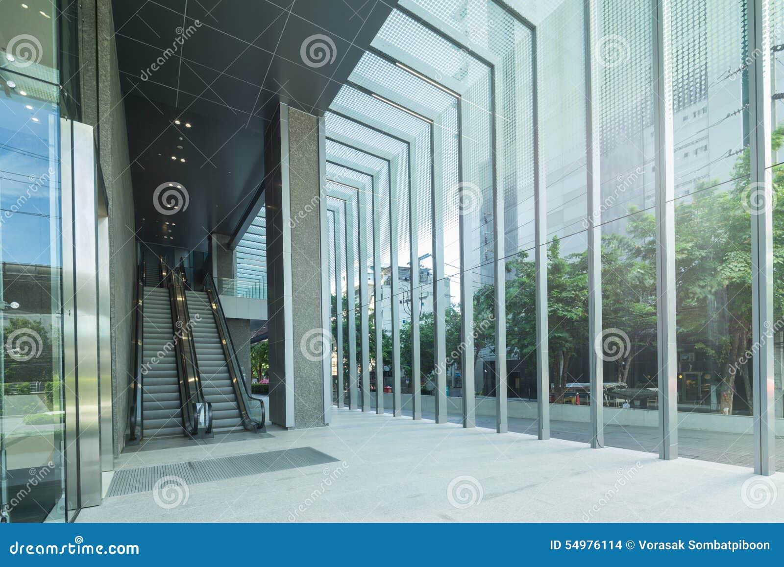 Modern byggnadsrulltrappa