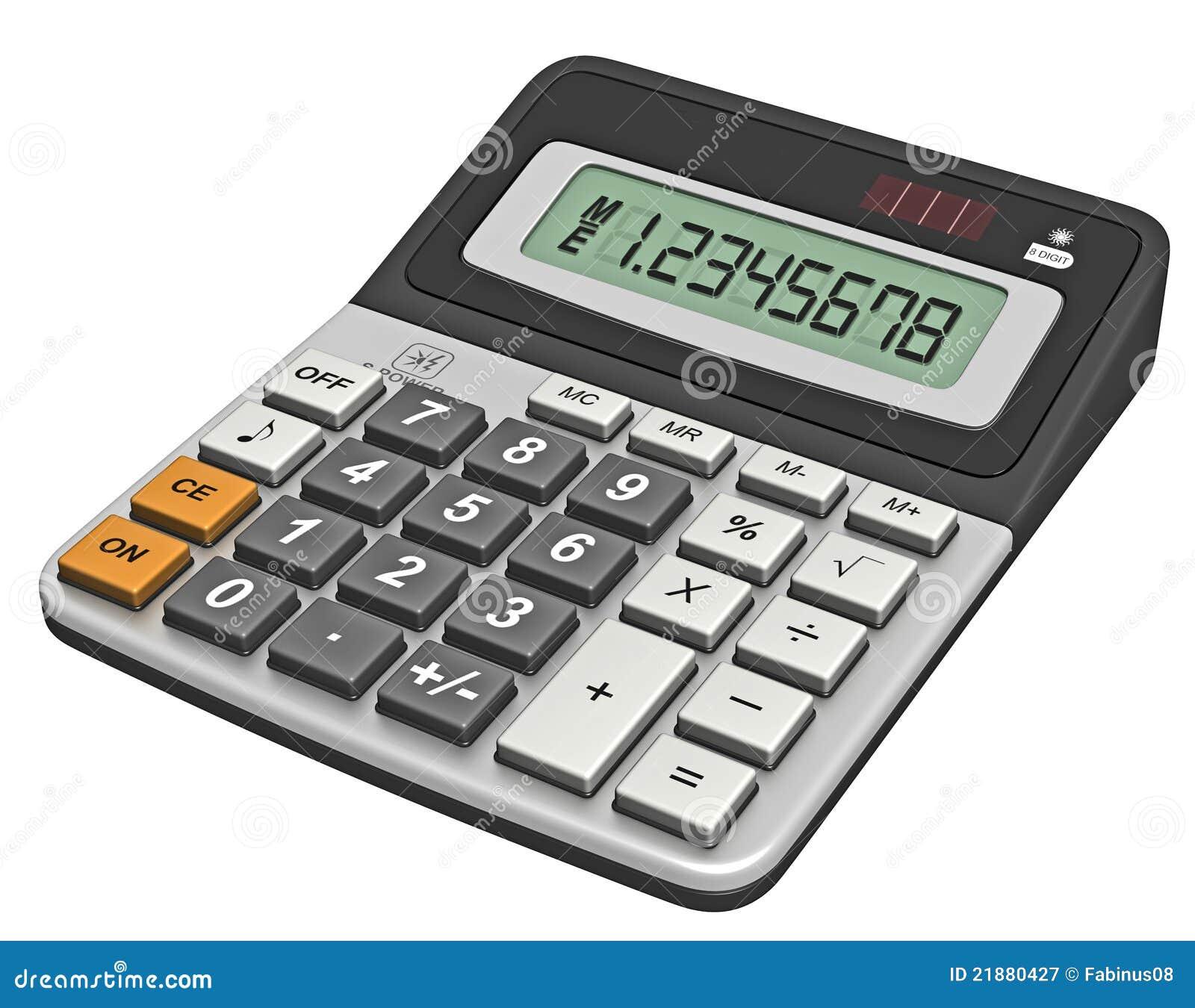 modern calculator stock illustration illustration of