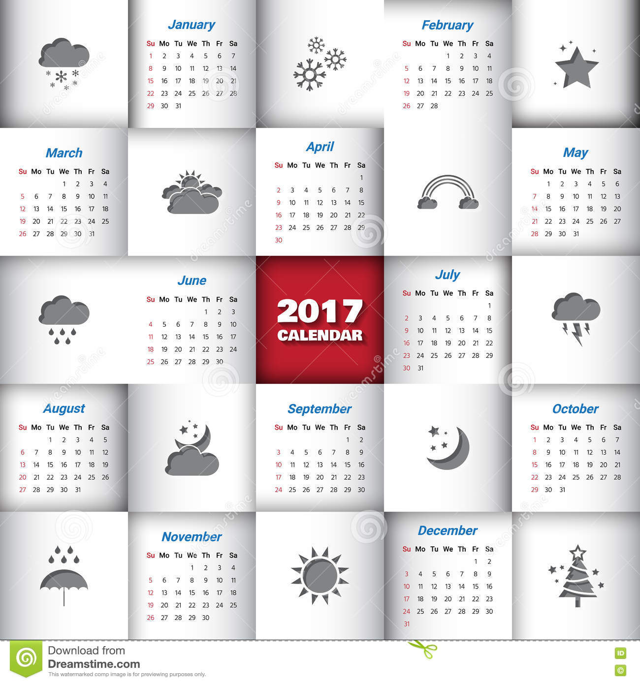 Month Cartoons Illustrations Amp Vector Stock Images