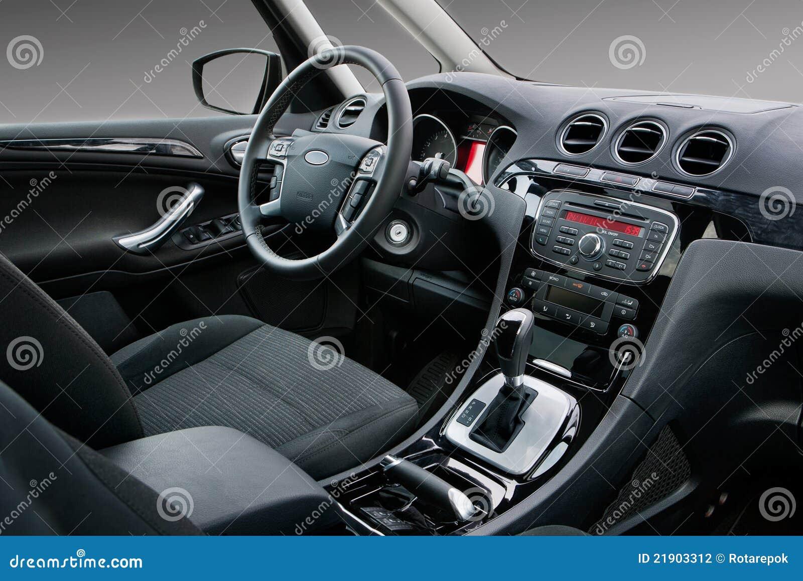 modern car interior stock photography image 21903312. Black Bedroom Furniture Sets. Home Design Ideas