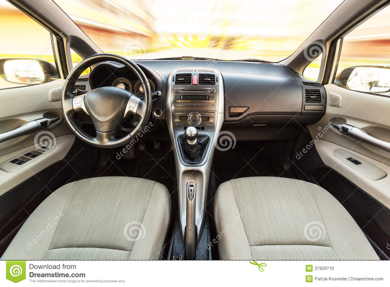 modern car interior stock photo image of safety interior 37929710. Black Bedroom Furniture Sets. Home Design Ideas