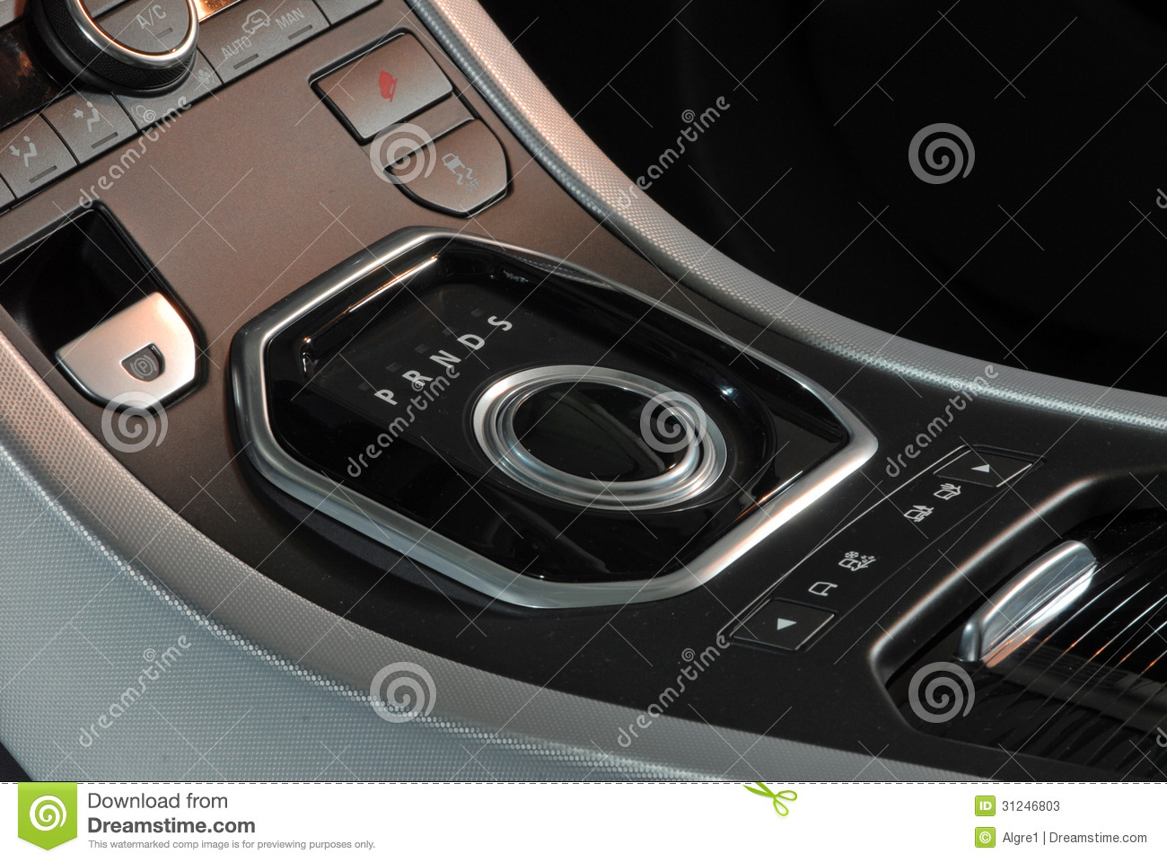 modern car interior knob gear stick stock photos image 31246803. Black Bedroom Furniture Sets. Home Design Ideas