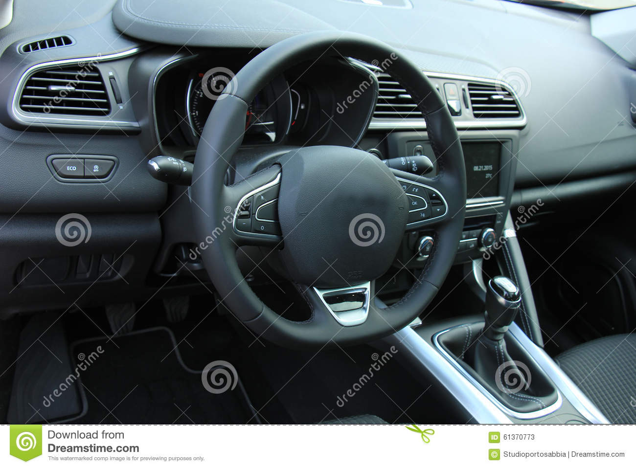 modern car interior stock illustration illustration of auto 61370773