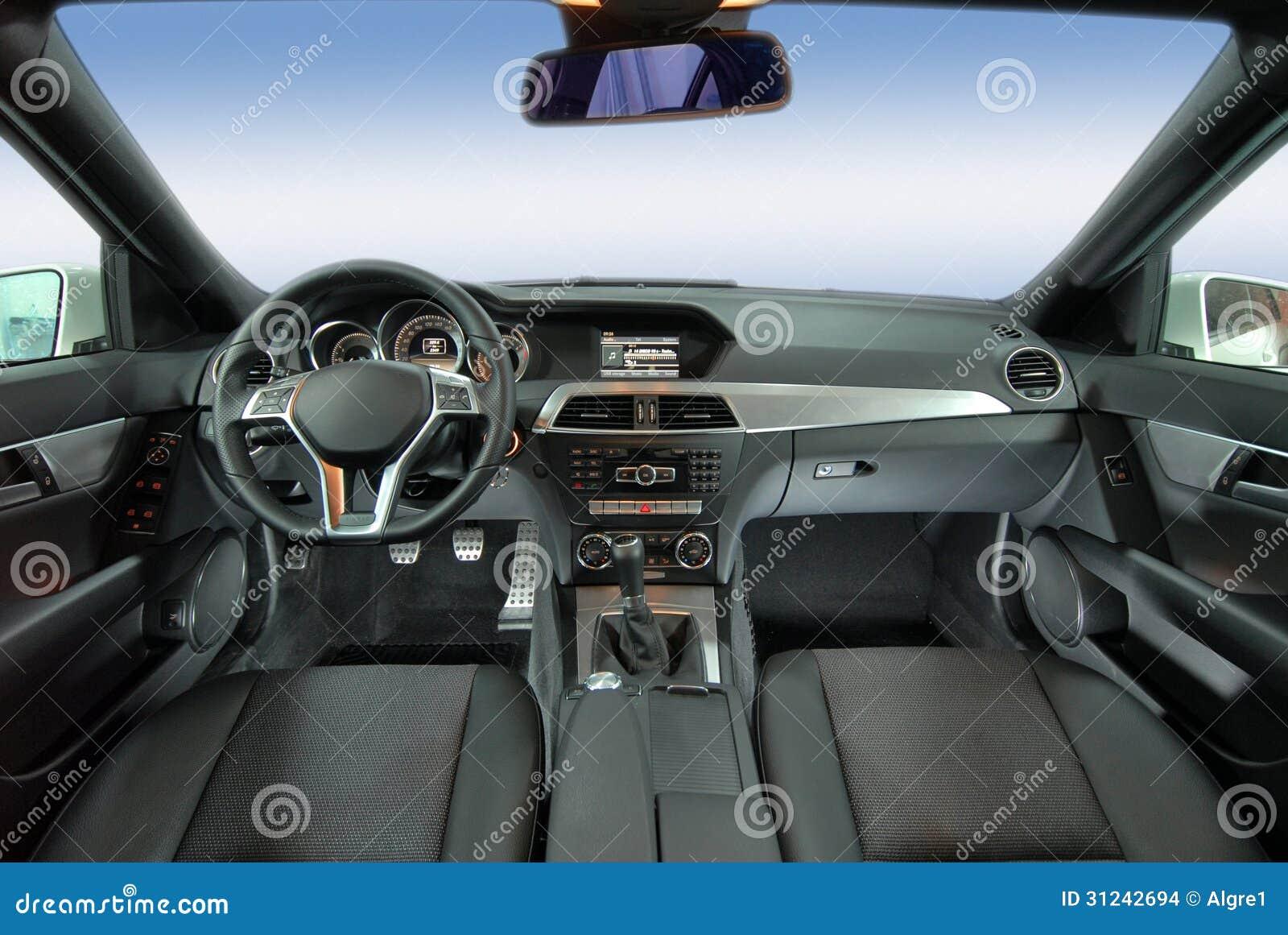 modern car interior stock images image 31242694. Black Bedroom Furniture Sets. Home Design Ideas