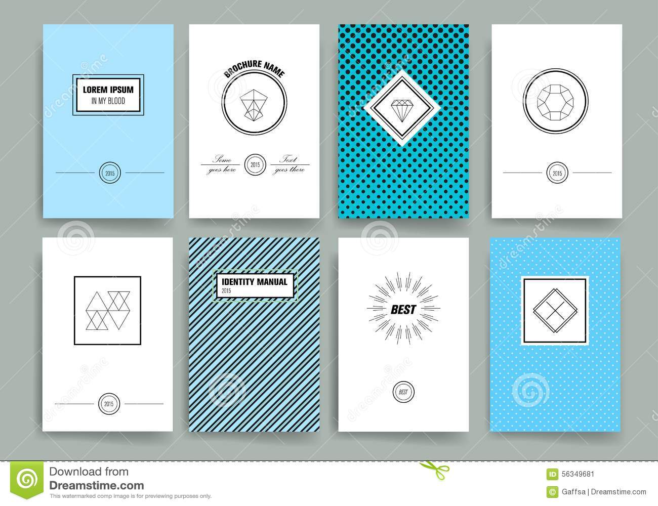 Modern Cards Design Template With Sharp Line Logos. Card, Abstract.  Line Card Template