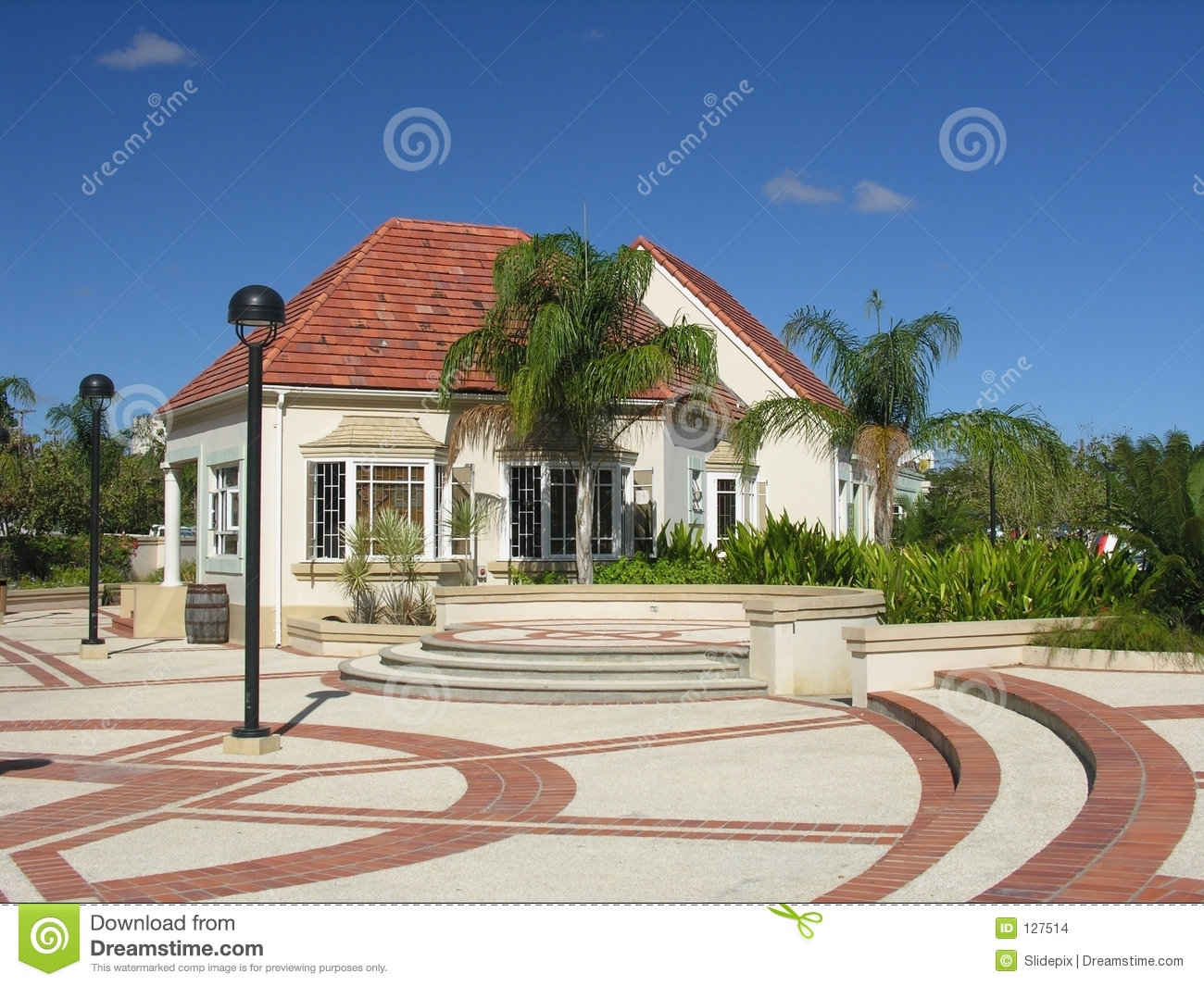 Modern Caribbean Architecture modern caribbean architecture stock images - image: 127514