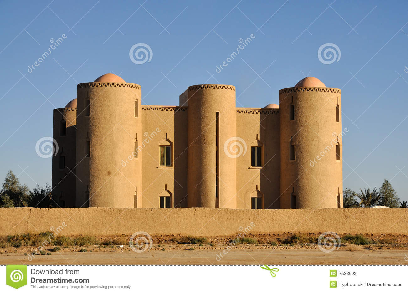 Modern casbah in morocco stock photography image 7533692 for Morocco motors erie pa