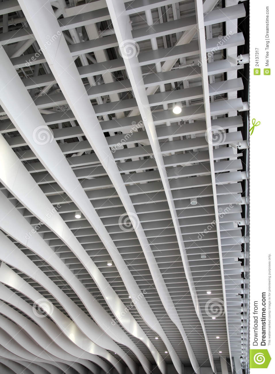 Modern Ceiling Canopy Royalty Free Stock Photography - Image: 24137317