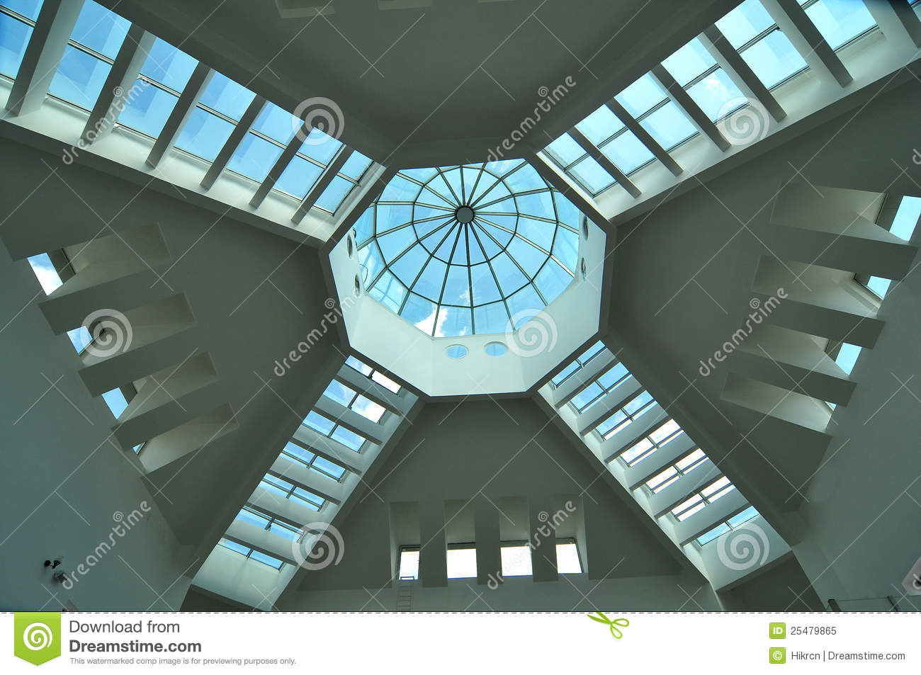 Royalty Free Stock Photo: Modern ceiling design