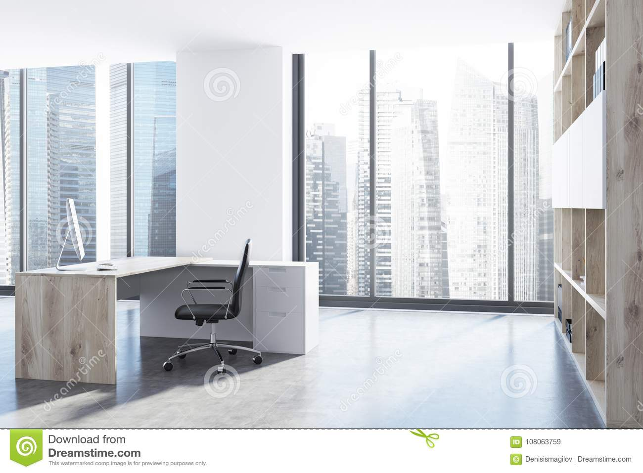 office side table. Royalty-Free Stock Photo Office Side Table