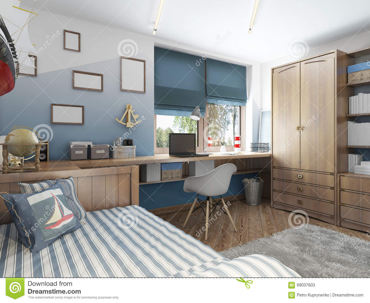 children s room furniture modern children s room for a in a nautical style 11118