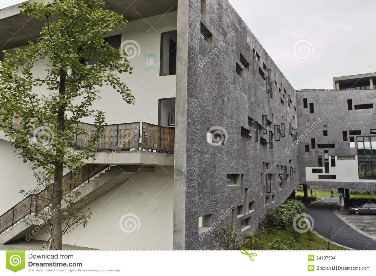 Modern Chinese Architecture Stock Images Image 24137504