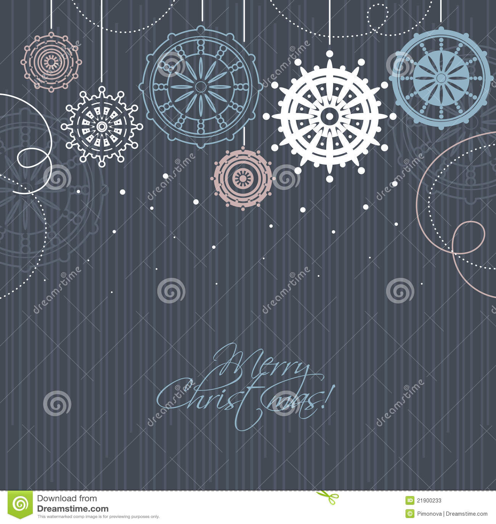 Modern Christmas Background Stock Photos - Image: 21900233