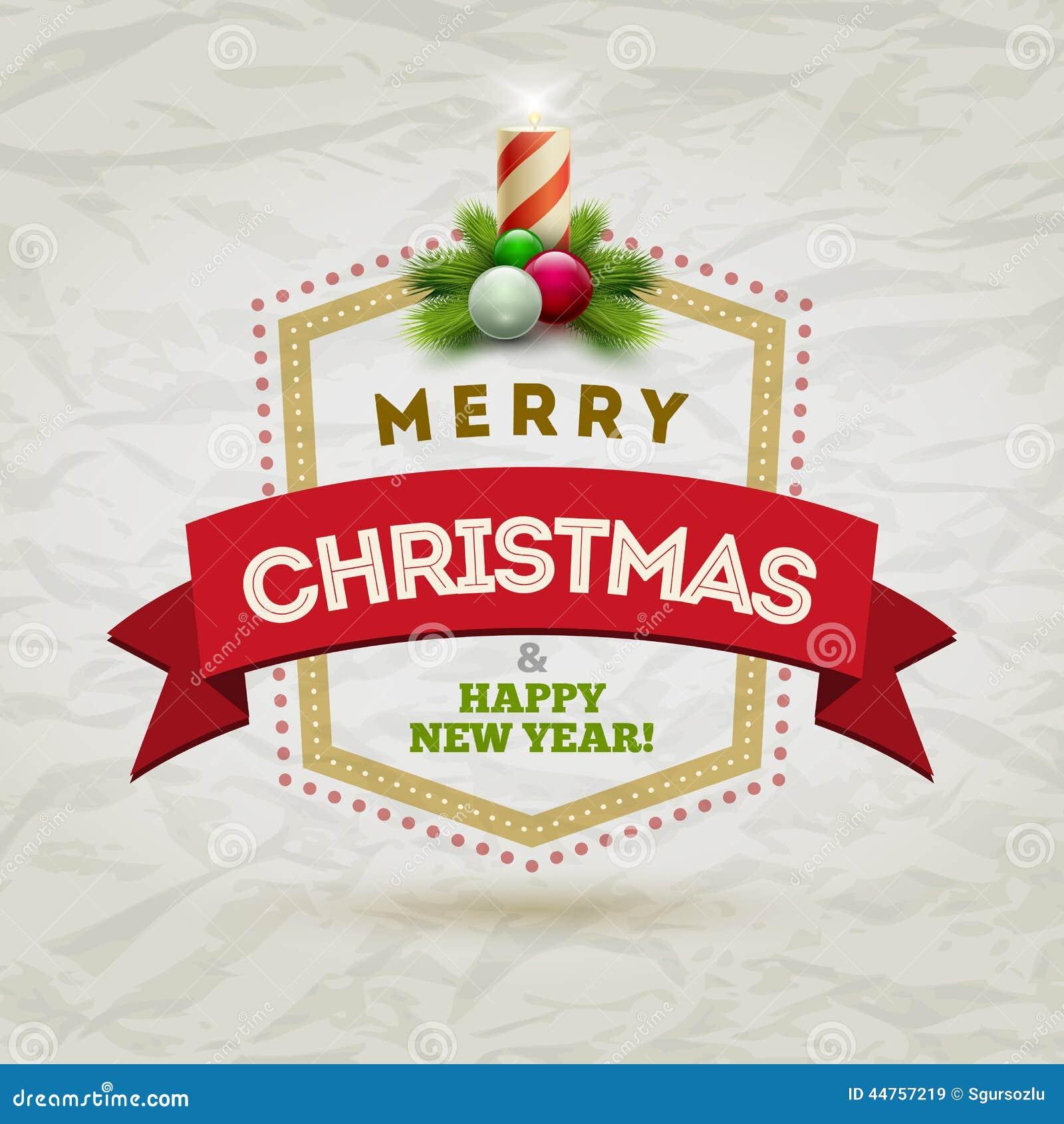 Modern Christmas Design Delectable Badge Stock Vector Image 44757219 Ideas