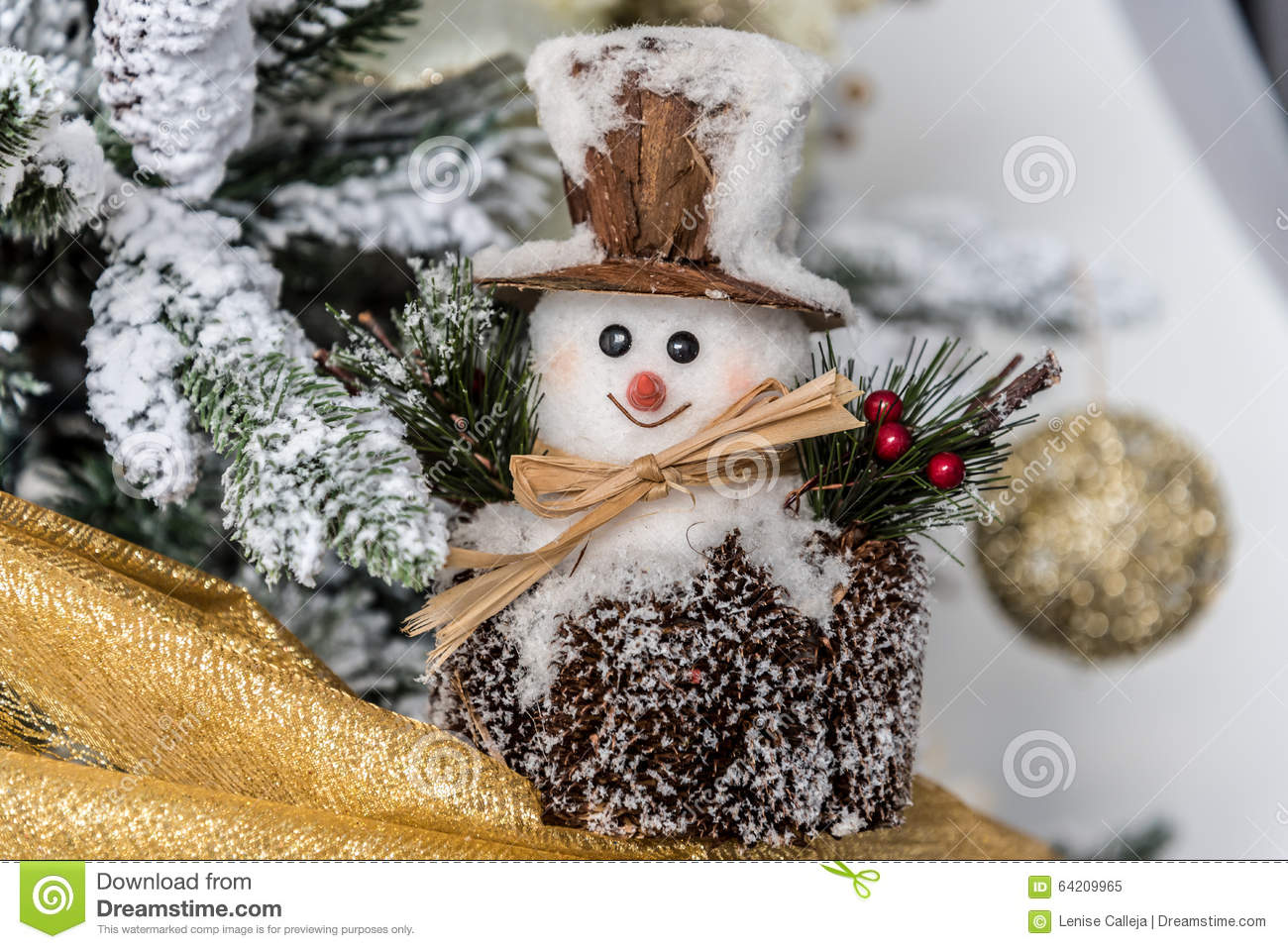 Modern christmas decorations stock photo image 64209965 for Modern gold christmas tree