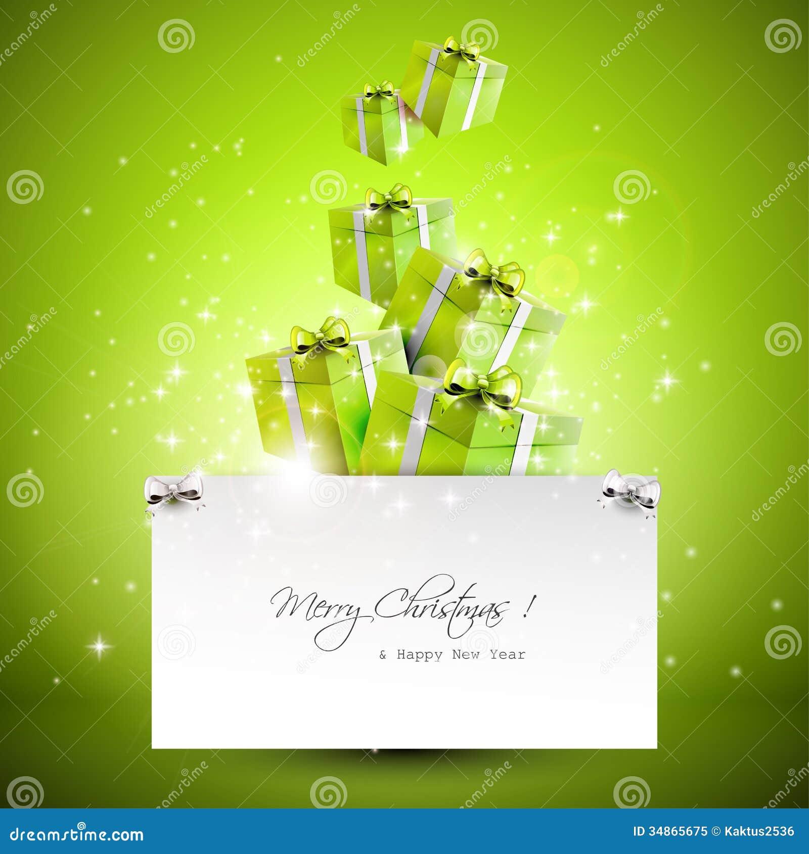 modern christmas greeting card royalty free stock photo