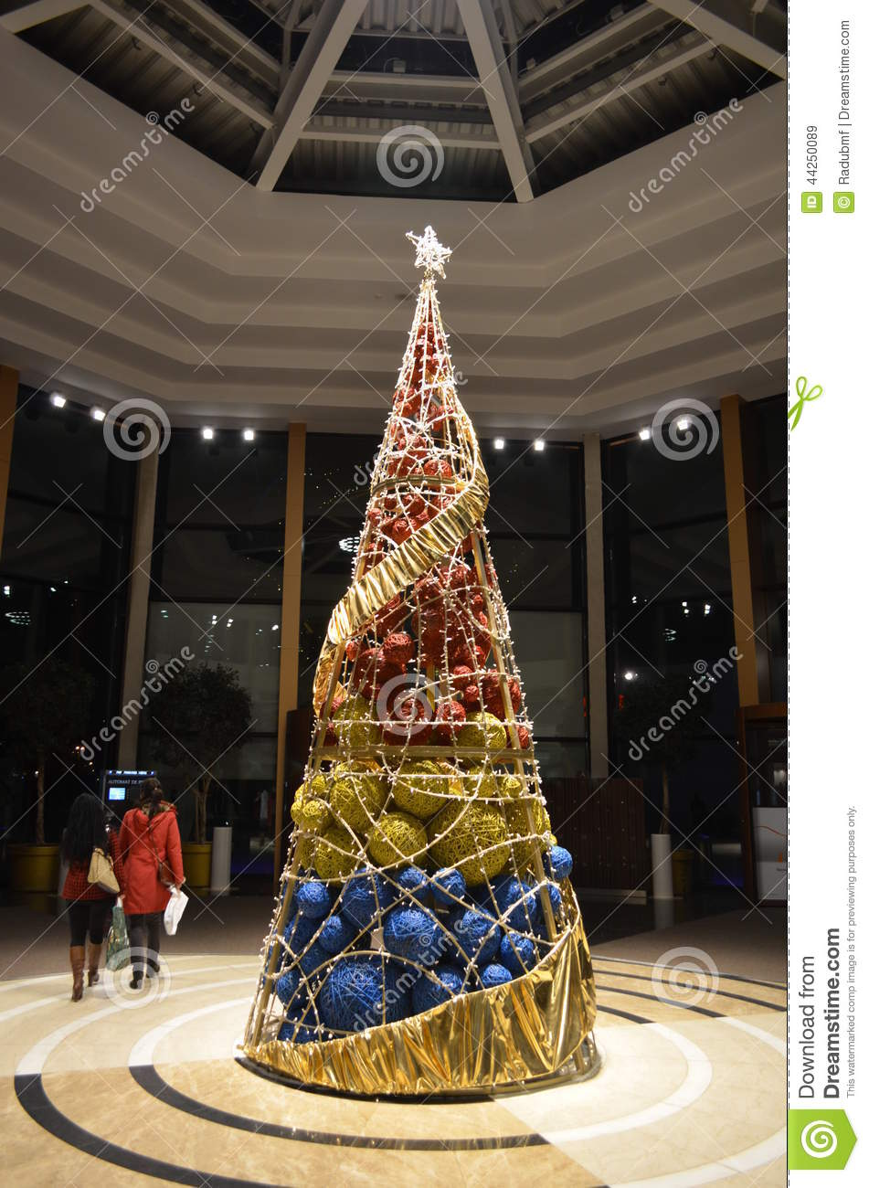 Modern christmas tree stock image image of modern decor for Unique holidays