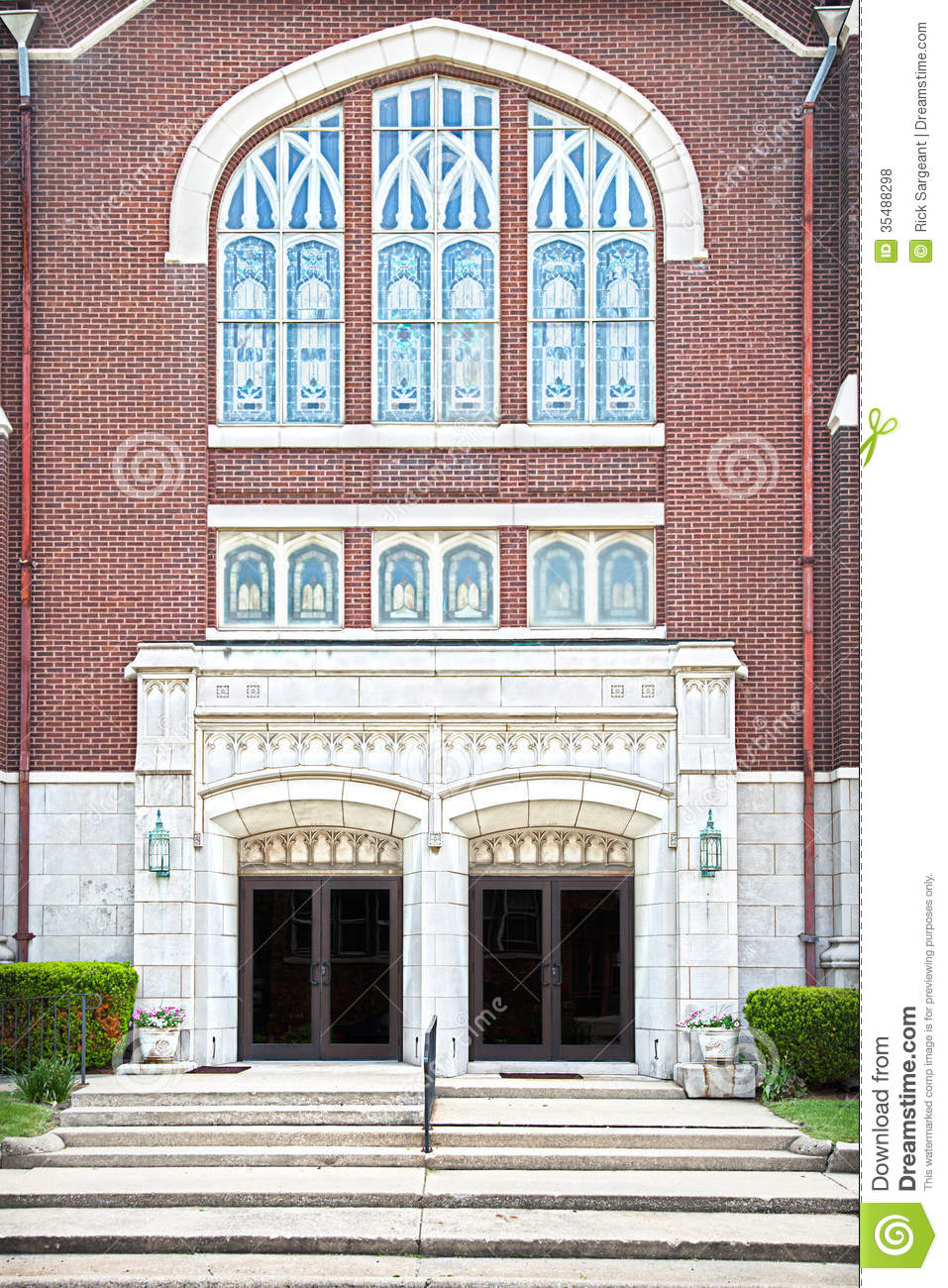 Modern church stock photo image of modern exterior 35488298 for Exterior glass doors for churches