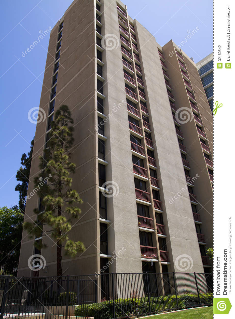 modern city apartment buildings stock photography image