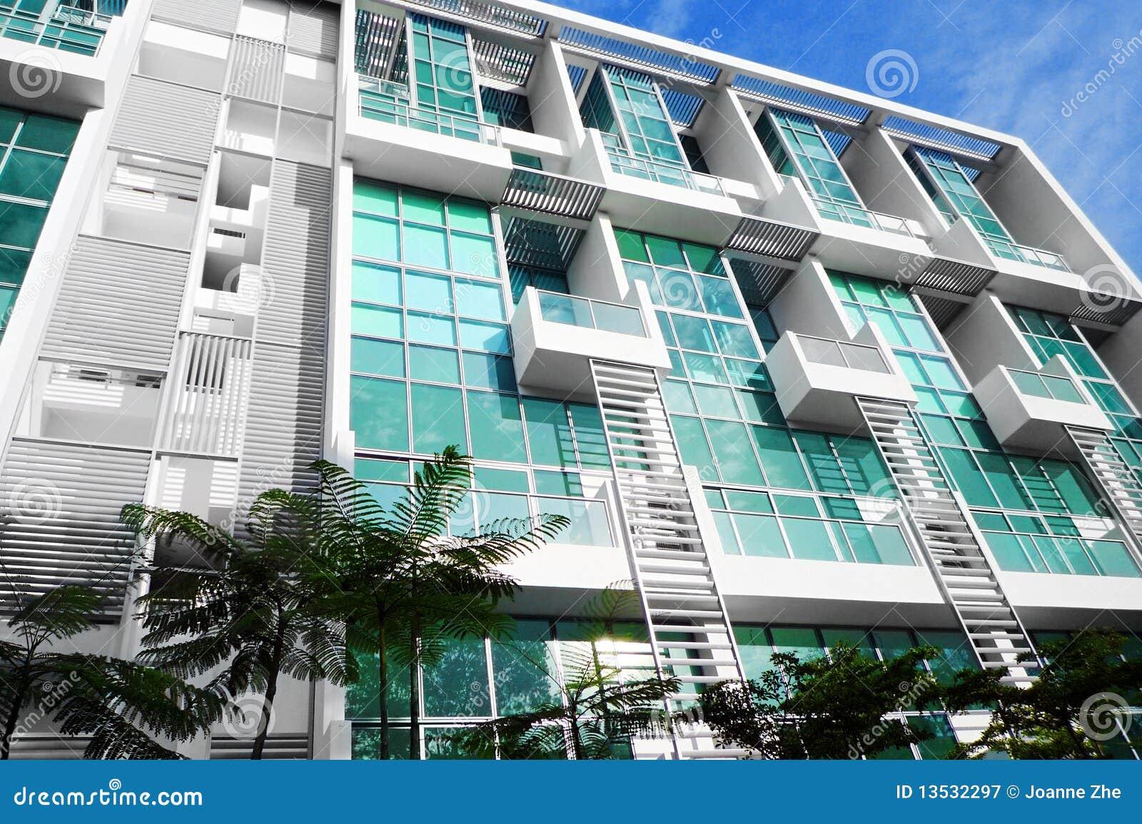 Modern City Apartment Housing Stock Image Image 13532297