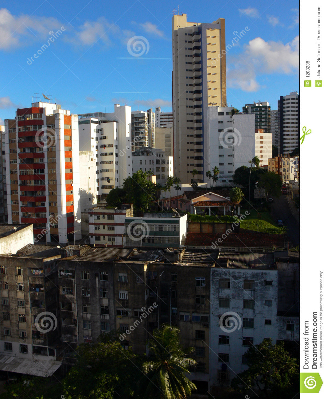 Modern Cityscape Stock Photo. Image Of Apartments, Houses