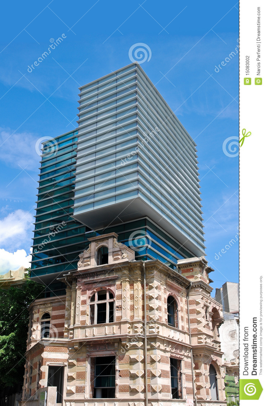 Modern And Classic Architecture Stock Photography Image 15083002