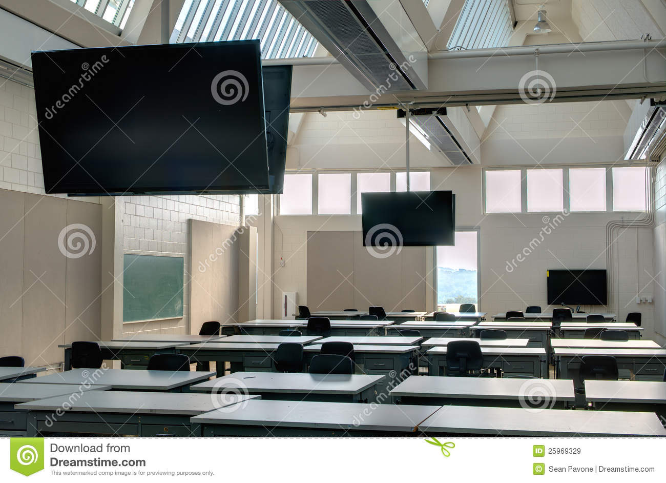 Modern Classroom Images : Modern classroom royalty free stock images image